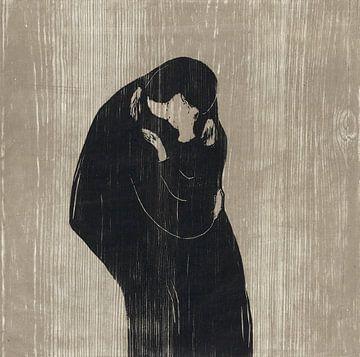 Der Kuss IV, Edvard Munch