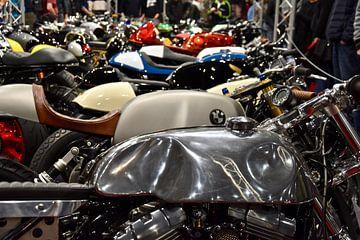De motorbeurs in Utrecht