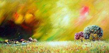 Colorful Nature van Gena Theheartofart
