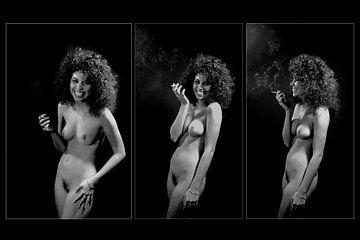 Funny Triptychon von Bert Burkhardt
