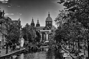 Amsterdam in Schwarz und Weiß