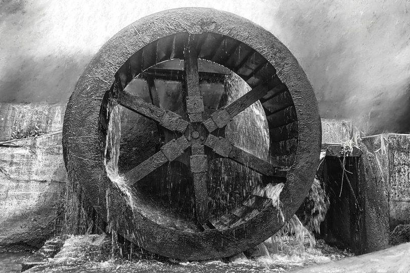 Waterrad van Harry Stok