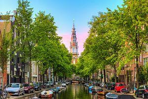 Amsterdam Groenburgwal in de lente
