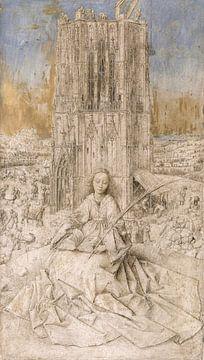 Heilige Barbara, Jan van Eyck