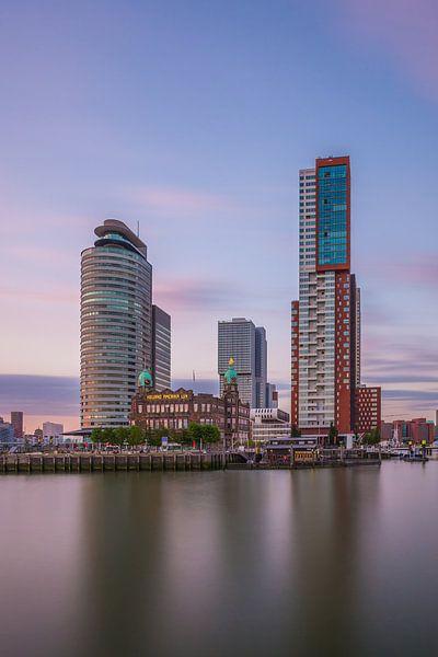 Rotterdam Skyline - Wilhelminapier - 5