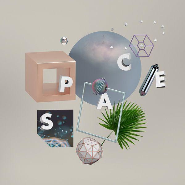 Elemente im Raum von Klaudia Kogut