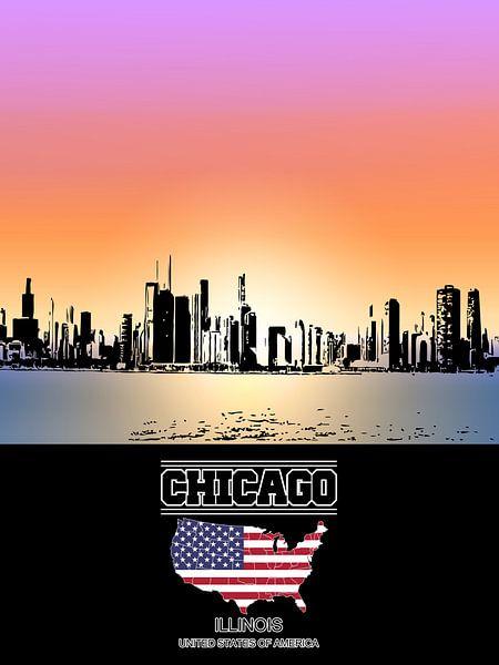 Chicago van Printed Artings