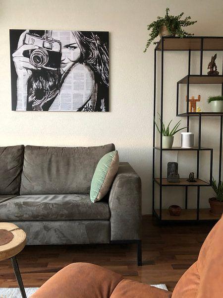 Kundenfoto: SNAP HAPPY von LOUI JOVER, auf hd metal