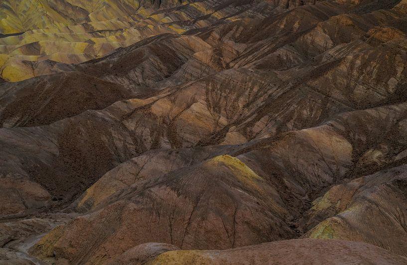 Gouden geërodeerde heuvelruggen van Joris Pannemans - Loris Photography