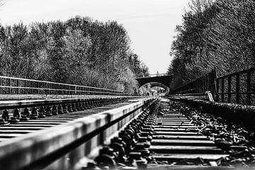 Eisenbahnschienen von Joerg Keller