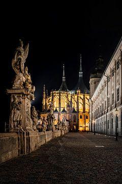 Die St. Barbara-Kirche in Kutná Hora von Dennis Donders
