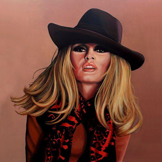 Brigitte Bardot Schilderij