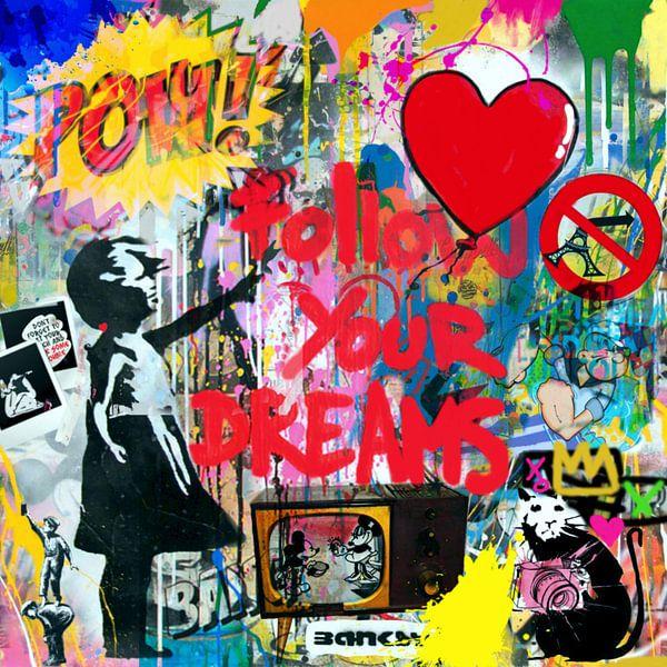 Hommage - Follow u dreams - Dadaismus Nonsens von Felix von Altersheim
