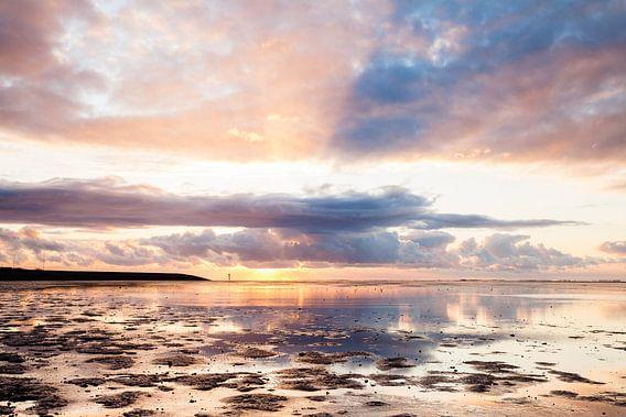 Sunny Sunset van Ton Drijfhamer
