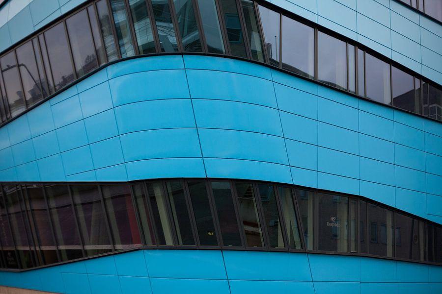 Blauw kantoor in Arnhem