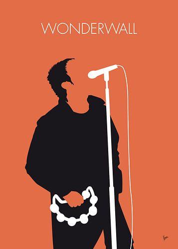 No023 MY Oasis Minimal Music poster van Chungkong Art