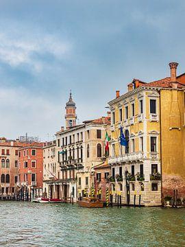 Blick auf den Canal Grande in Venedig von Rico Ködder