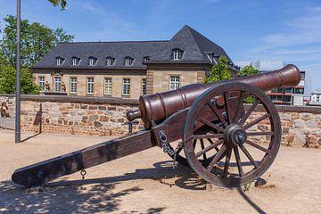 Alte Kanone,  Alter Zoll,  Bonn, Nordrhein-Westfalen, Deutschland