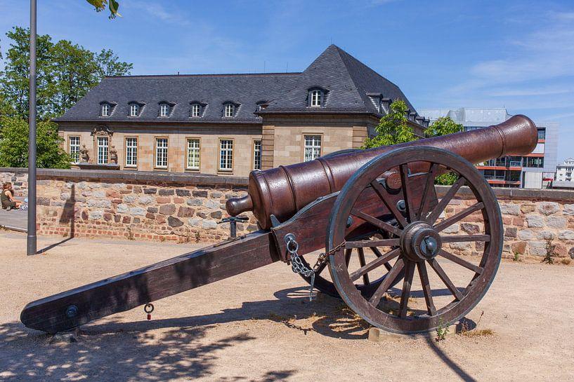 Alte Kanone,  Alter Zoll,  Bonn, Nordrhein-Westfalen, Deutschland von Torsten Krüger