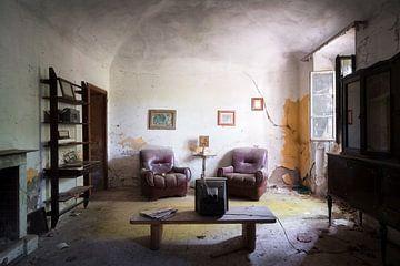 Salon abandonné. sur Roman Robroek