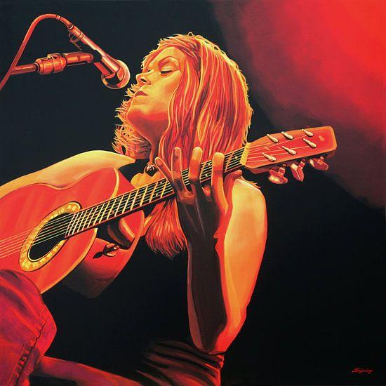 Beth Hart schilderij van Paul Meijering