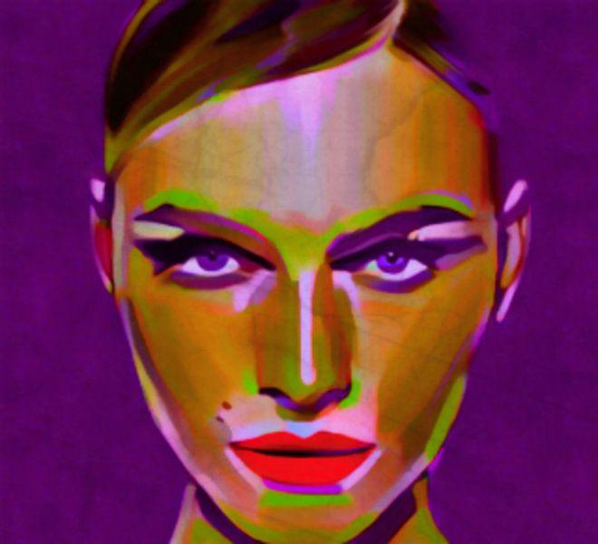 No Name 21 Pop Art  van Felix von Altersheim