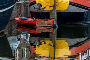 Rood bootje van Kok and Kok