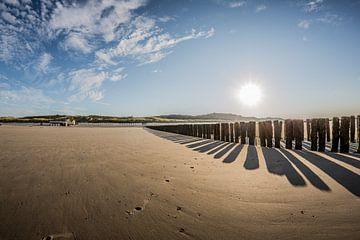 Am strand von Westkapelle (Zeeland,  die Niederlande) von Fotografie Jeronimo
