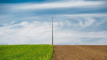 Französisch Farmland von Wim Slootweg