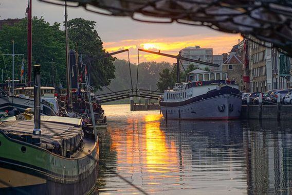 Wolwevershaven in Dordrecht