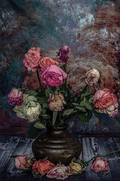 Romantic flower van Irene van de Wege