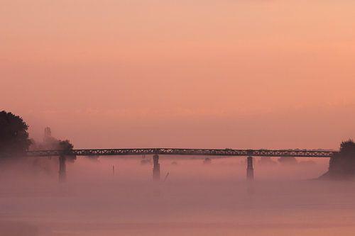 zonsopkomst in Frankrijk