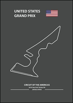 UNITED STATES GRAND PRIX | Formula 1 van Niels Jaeqx