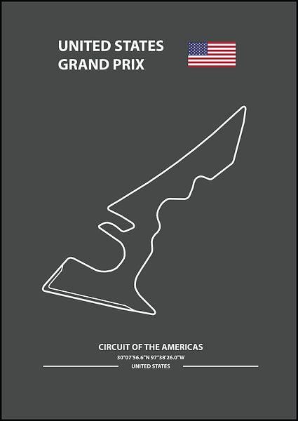 UNITED STATES GRAND PRIX | Formula 1 von Niels Jaeqx
