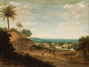 Brasilianisches Dorf, Frans Jansz Post