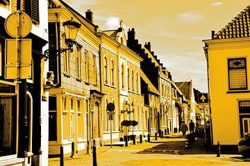 Vianen Utrecht Innere Stadt Gold von Hendrik-Jan Kornelis