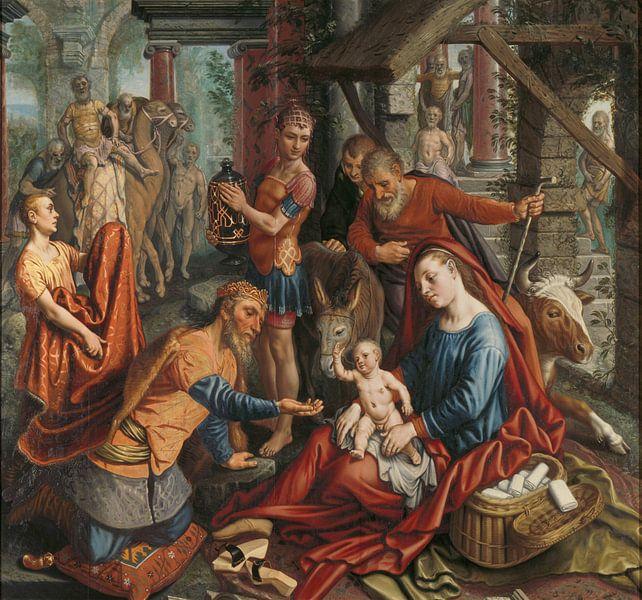 Die Anbetung der Könige, Pieter Aertsen, um 1560 von Marieke de Koning