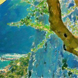 Italië Capri van Schildersatelier van der Ven