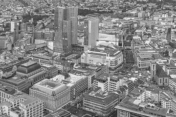 Das Stadtzentrum von Frankfurt in Deutschland von MS Fotografie | Marc van der Stelt