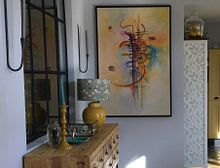 Klantfoto: Waterverf nr. 325, Wassily Kandinsky, op canvas