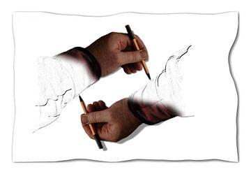 Handen van Erik Reijnders