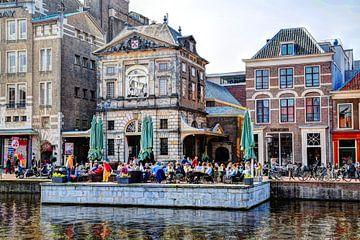 De Leidse Waag Leiden Nederland van Hendrik-Jan Kornelis