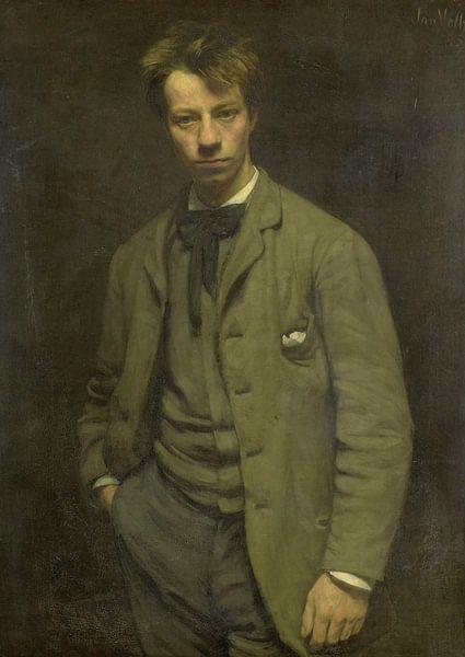 Portret van Albert Verwey, Jan Veth van Meesterlijcke Meesters