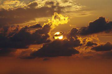 Sonnenuntergang von Ruben de jong