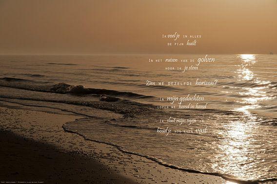Ik mis je (2)  van Beeld en Poëzie