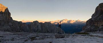 Sonnenaufgang in Brenta. von Sean Vos