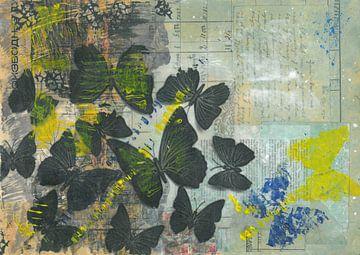 Butterflies van Nora Bland