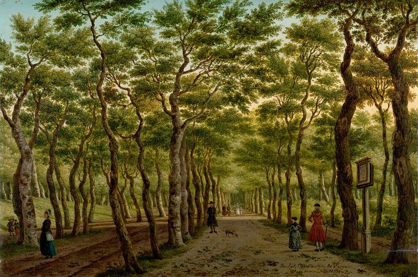 Der Herepad in der Haagse Bos, Paulus Constantijn la Fargue von Meesterlijcke Meesters