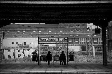 Warschauer Strasse, Berlin van Maurice Moeliker