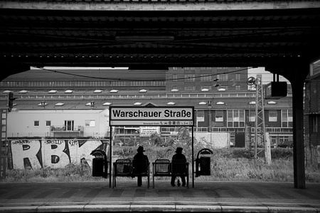Warschauer Strasse, Berlin von Maurice Moeliker